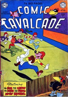 Comic Cavalcade #42. Click for current values.