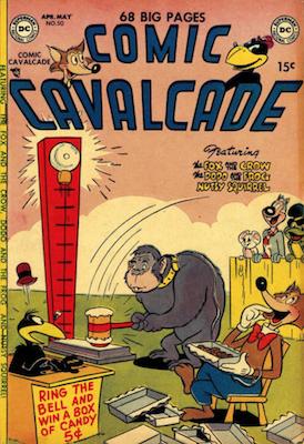 Comic Cavalcade #50. Click for current values.