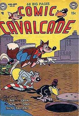 Comic Cavalcade #52. Click for current values.