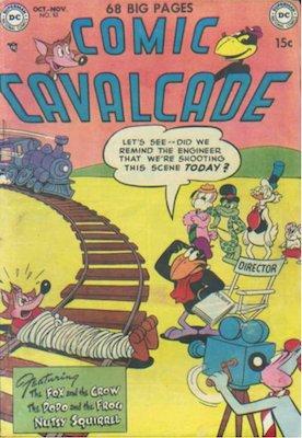 Comic Cavalcade #53. Click for current values.