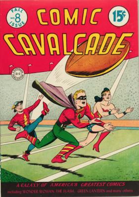 Comic Cavalcade #8. Click for current values.