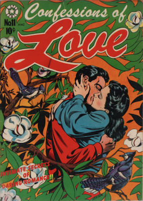 Confessions of Love #11: L. B. Cole cover. Click for values