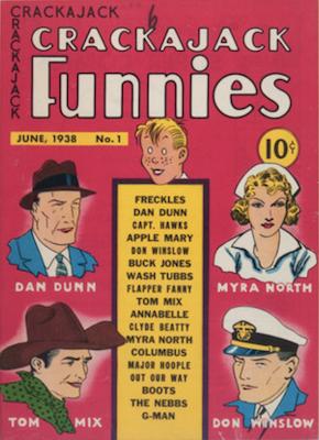Crackajack Funnies #1 (1938). Click for values