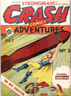 Crash Comics #3. Click for current values.