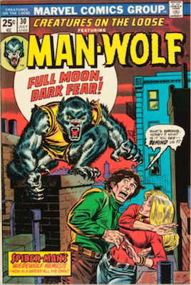 Creatures on the Loose #30: 1st Appearance of Agent Simon Stroud (Morbius movie). Click to buy a copy