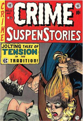 Crime SuspenStories #22. Click for current values.