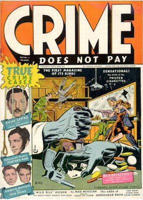 Crime does not Pay #22. Click for current values.