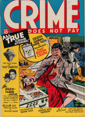 Crime does not Pay #24. Click for current values.