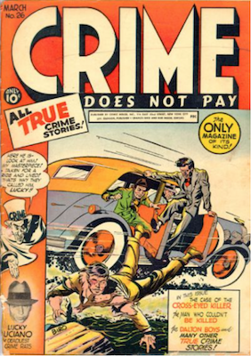 Crime does not Pay #26. Click for current values.