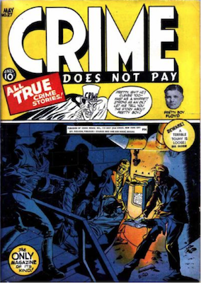 Crime does not Pay #27. Click for current values.