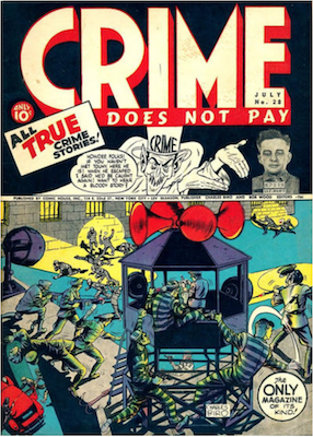 Crime does not Pay #28. Click for current values.