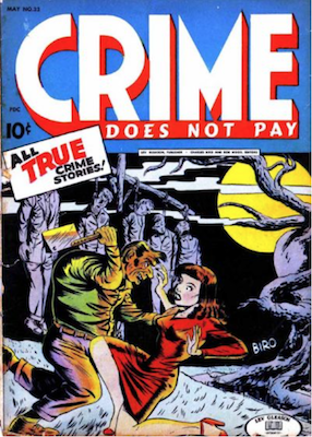 Crime does not Pay #33. Click for current values.
