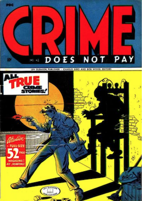 Crime does not Pay #42. Click for current values.