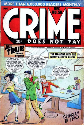 Crime does not Pay #58. Click for current values.