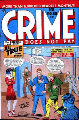 Crime does not Pay #60. Click for current values.