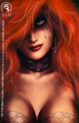 Cry For Dawn #1 (1989): First appearance of Dawn; 3rd Printing. Click for values