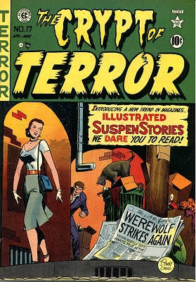 Crypt of Terror #17 (1950): First issue of the series that later became