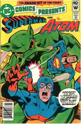 DC Comics Presents #15. Click for current values.