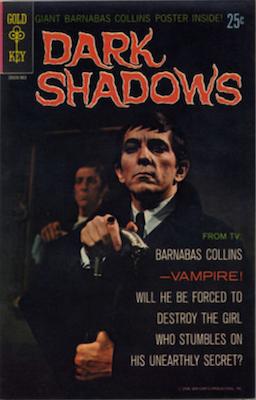 Dark Shadows #1 (1969), Gold Key comics. Click for values