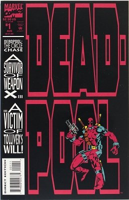 Deadpool #1 (1993) 1st Solo Series. Click for value