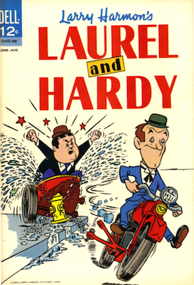 Dell Laurel and Hardy Comics #3. Click for values