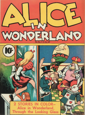 Alice in Wonderland: Sell Single Series #24. Click for values