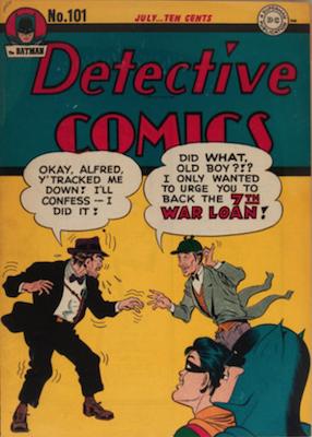 Detective Comics #101. Click for current values.