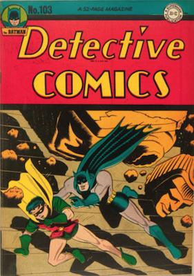 Detective Comics #103. Click for current values.