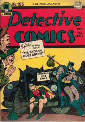 Detective Comics #105. Click for current values.