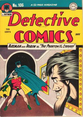 Detective Comics #106. Click for current values.