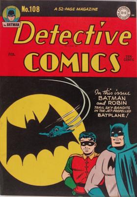 Detective Comics #108. Click for current values.