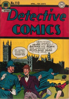 Detective Comics #110. Click for current values.