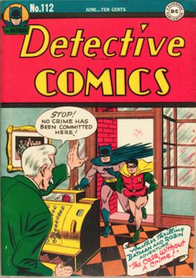 Detective Comics #112. Click for current values.