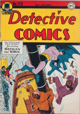 Detective Comics #113. Click for current values.