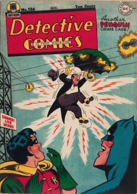 Detective Comics #126 (1947): Classic Penguin Cover. Click for values