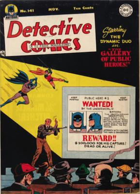 Detective Comics #141. Click for current values.