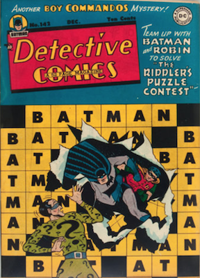 Detective Comics #142: Second Riddler Appearance. Click for values