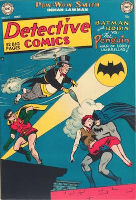 Detective Comics #171 (1951): Penguin Cover. Click for values