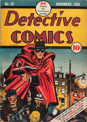 Detective Comics #22. Click for current values