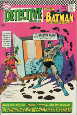 Detective Comics #364: Early Silver Age Riddler comic appearance. Click for values
