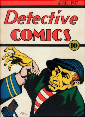 Detective Comics #2: Creig Flessel covers begin. Click for values