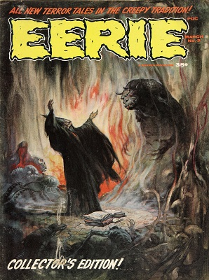 Eerie #2 (#1 in series) (1966): First issue of Magazine horror. Click for value