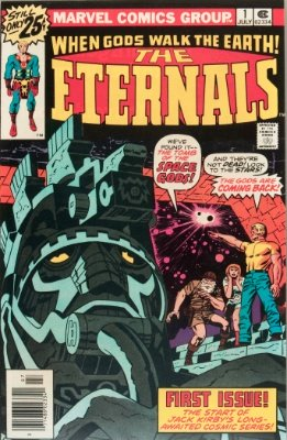 Marvel Comics Eternals #1: Origin and First Appearance. Click to buy a copy