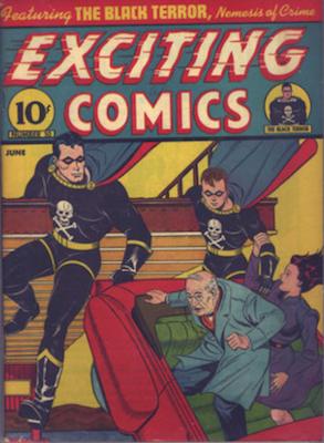 Exciting Comics #10. Click for current values.