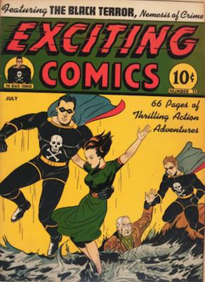 Exciting Comics #11. Click for current values.