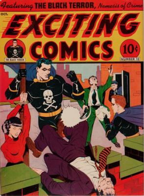 Exciting Comics #13. Click for current values.