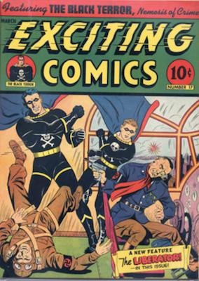 Exciting Comics #17. Click for current values.