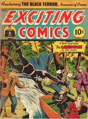 Exciting Comics #20. Click for current values.