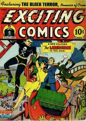 Exciting Comics #21. Click for current values.