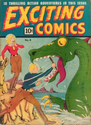Exciting Comics #4. Click for current values.